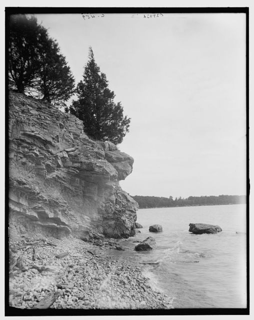 [Rocks at Hotel Victory, Put-in-Bay, Ohio]