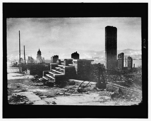 [San Francisco earthquake and fire of 1906]