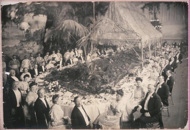 Secretary Taft's party dinner