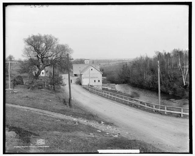 Shaker mills, Pittsfield [i.e. Hancock], Mass.