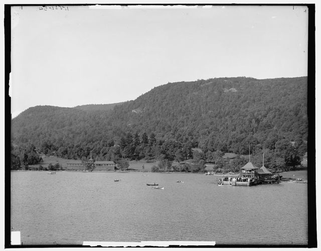 Silver Bay Hotel and grounds, Lake George, N.Y.