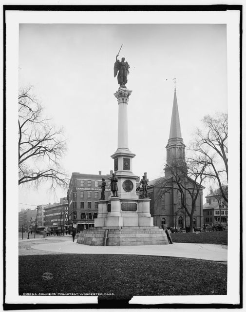 Soldiers' Monument, Worcester, Mass.