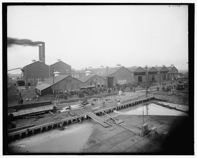 [Some of the shops, Great Lakes Engineering Works, Ecorse, Mich.]