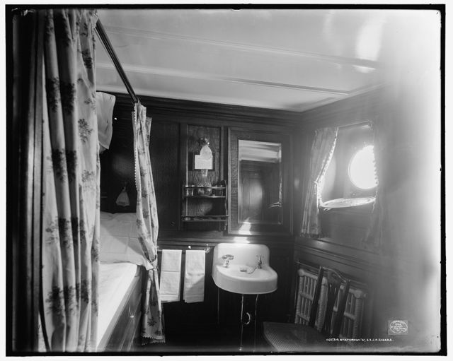 Stateroom A, S.S. J.H. Sheadle