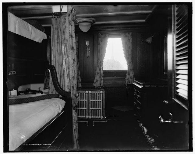Stateroom B, S.S. J.H. Sheadle