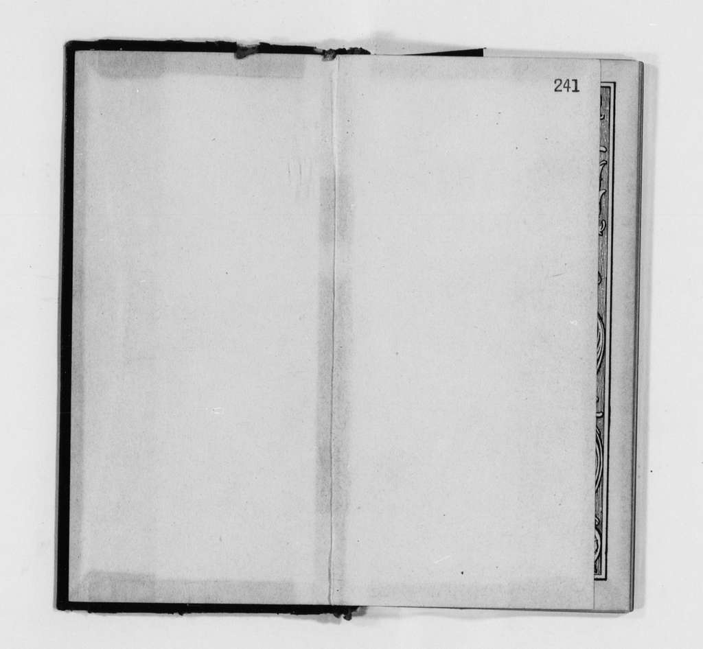 Susan B. Anthony Papers: Daybook and Diaries, 1856-1906; Diaries; 1906