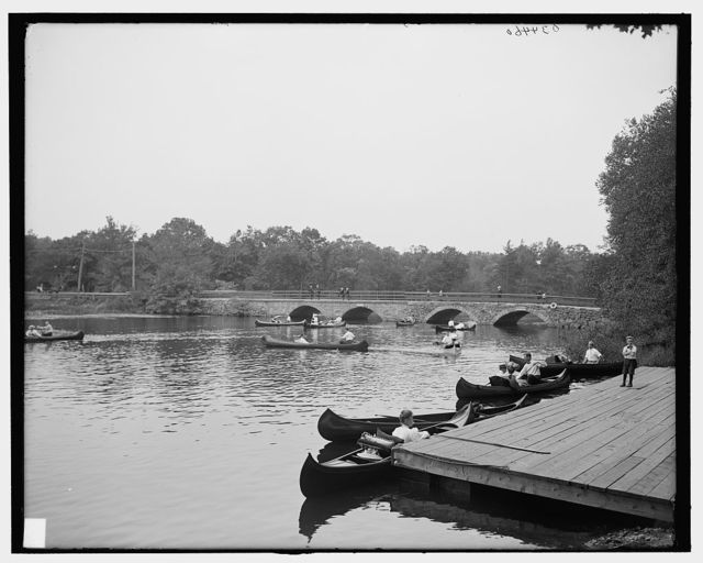 [The Bridge, Charles River Reservation, Mass.]
