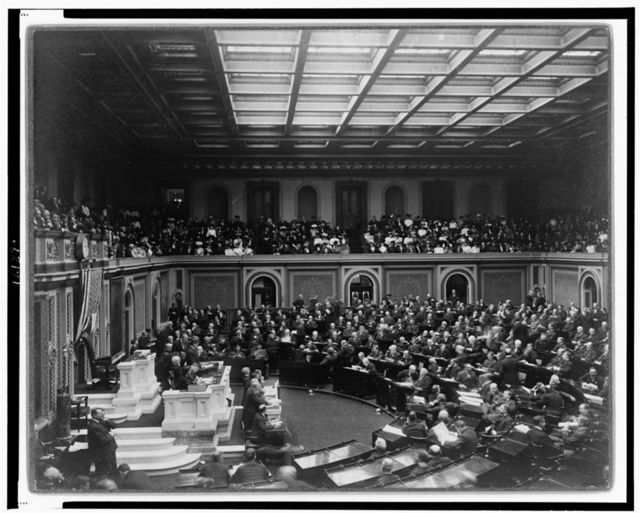 The House called to order--Opening of 59th Congress