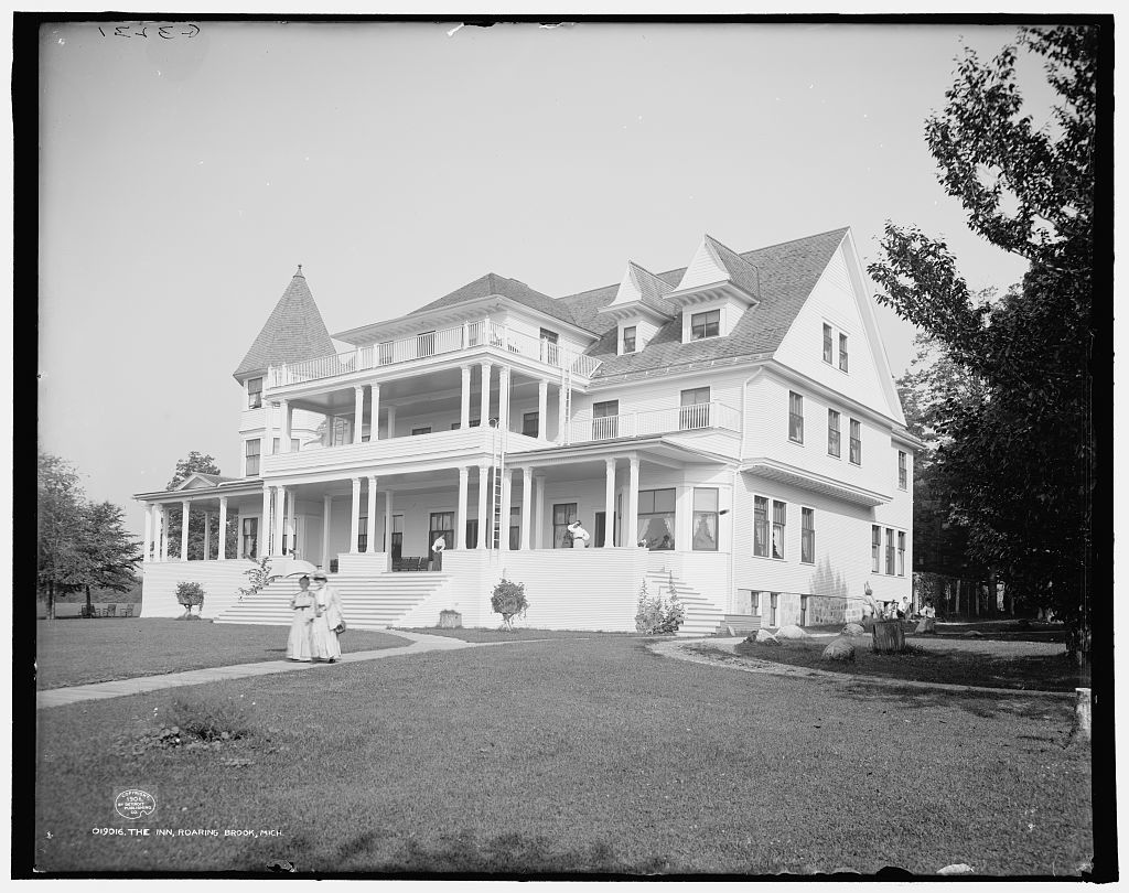 The Inn, Roaring Brook, Mich.