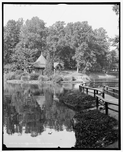 The Island house, Druid Hill Park, Baltimore, Md.