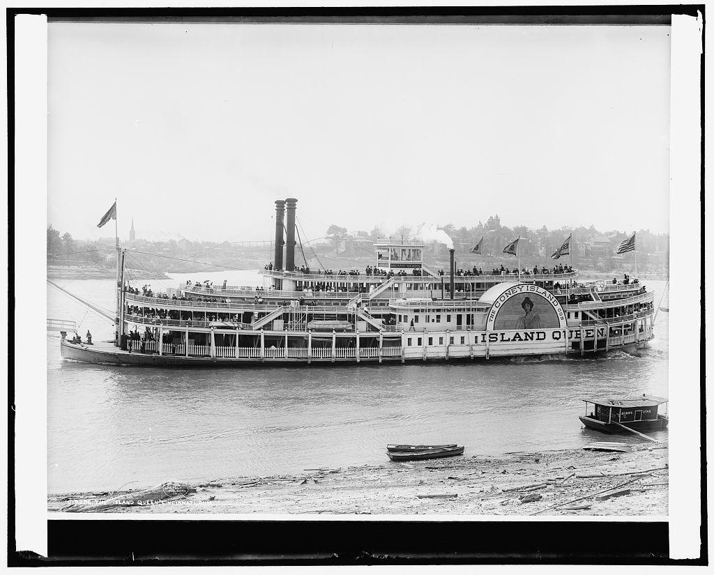 The Island Queen, Cincinnati, Ohio