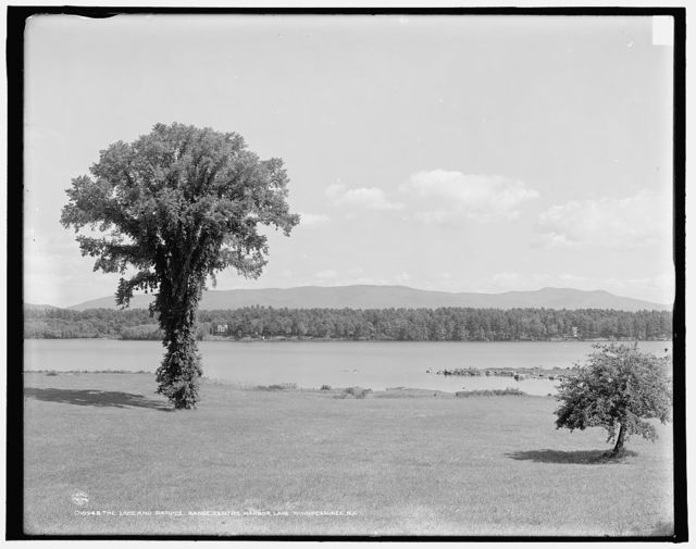 The Lake and Ossipee Range, Centre Harbor, Lake Winnipesaukee, N.H.
