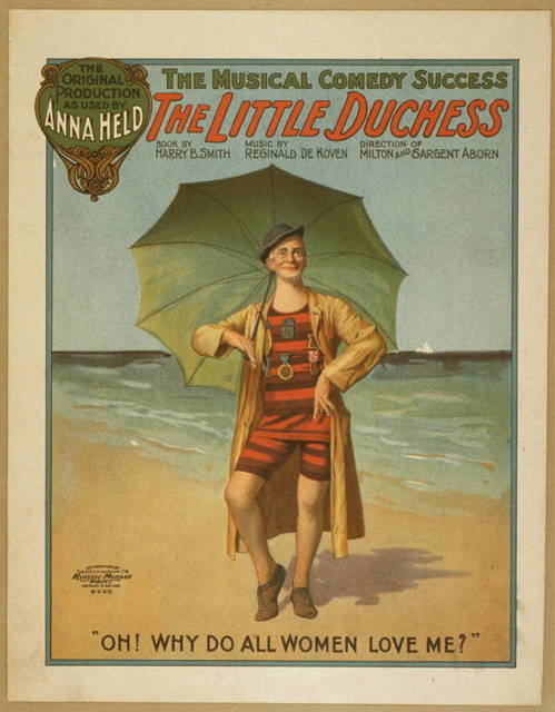 The little duchess the musical comedy success.