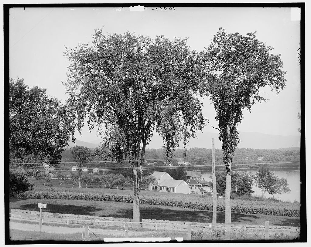 The Meredith Road, Centre Harbor, Lake Winnipesaukee, N.H.