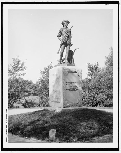 The Minute Man, Concord, Mass.