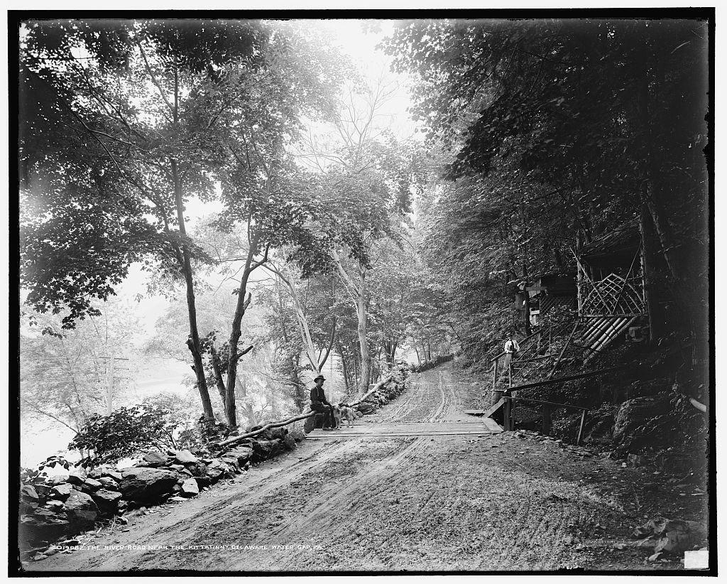 The River road near the Kittatinny [House], Delaware Water Gap, Pa.