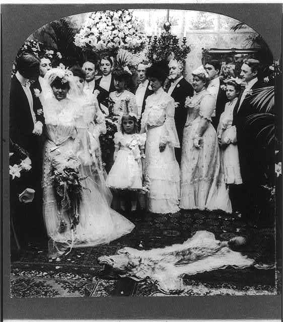 Their wedding march