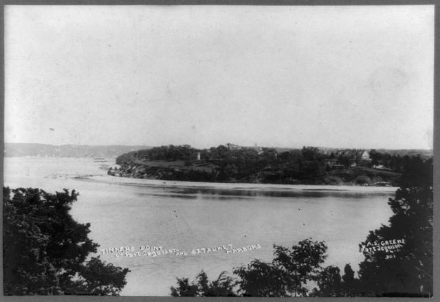Tinker's Point on Port Jefferson and Setauket harbors / A.S. Greene, Port Jefferson.