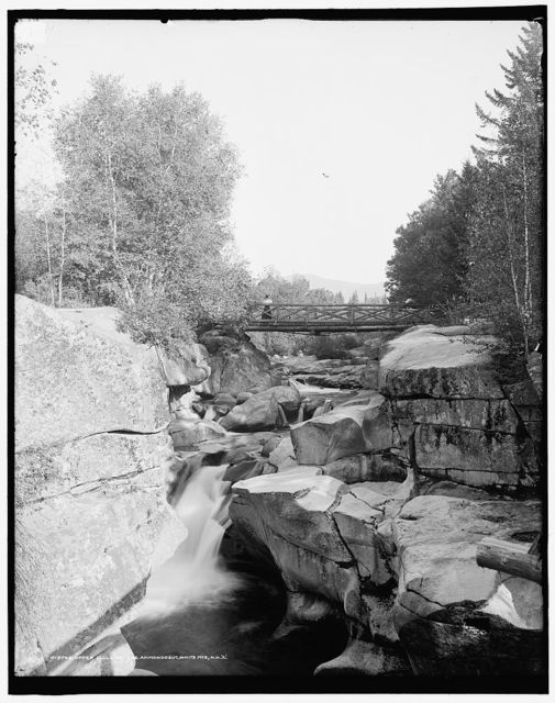 Upper Falls of the Ammonoosuc, White Mts., N.H.