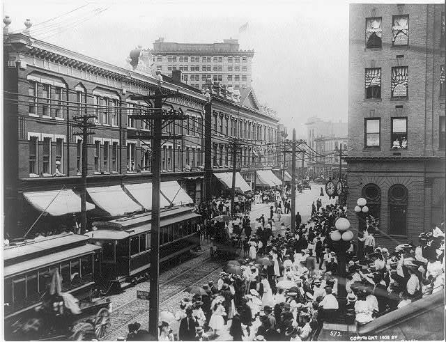 View of Main Street, Norfolk, Va.