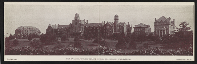 View of Randolph-Macon Woman's College, College Park, Lynchburg, Va.