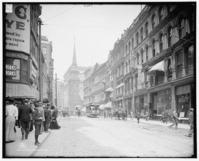Washington Street, Boston, Mass.