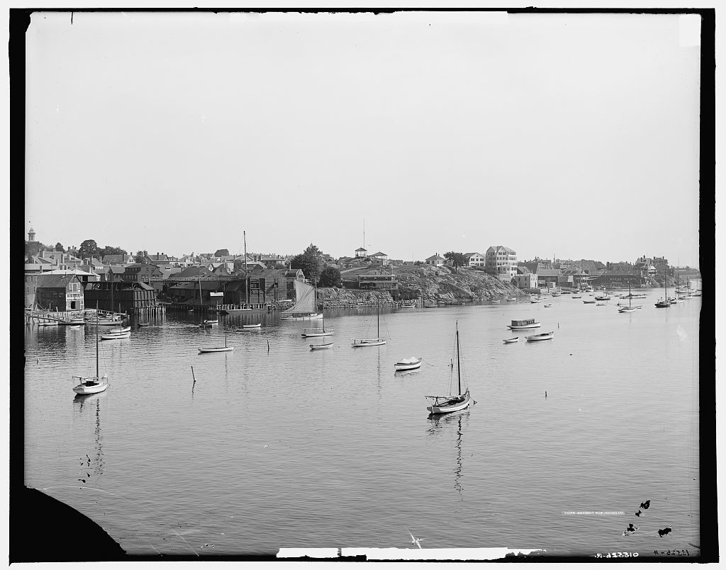 Water front, Marblehead, Mass.