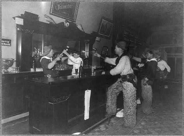 A dispute with the bartender