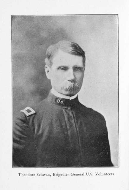 A recent campaign in Puerto Rico by the Independent Regular Brigade under the command of Brig. General Schwan,