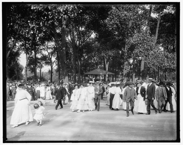 Band concert, Lincoln Park, Chicago, Ill.