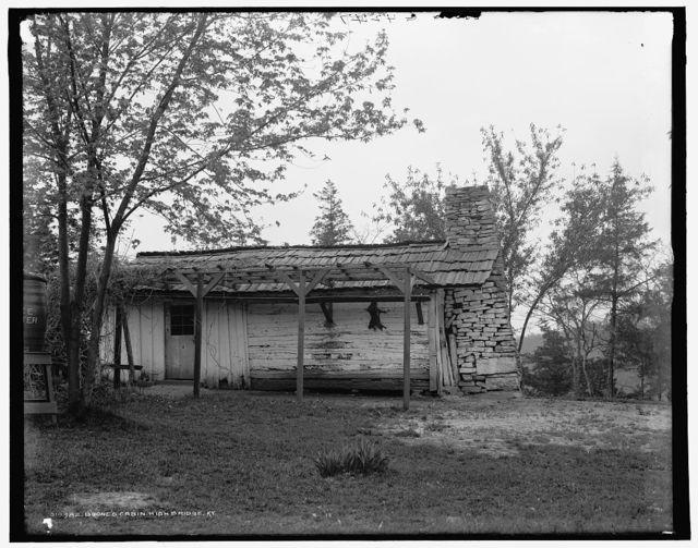 Boone's cabin, High Bridge, Ky.