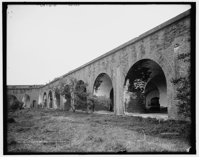 Casements, Fort Pulaski, Savannah, Ga.
