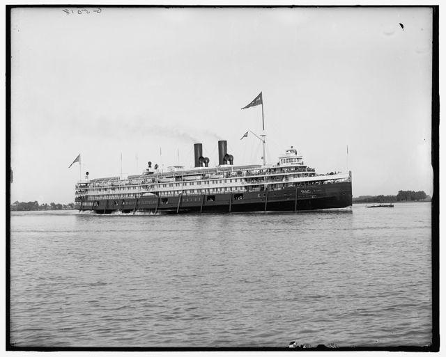[City of Cleveland, Detroit & Cleveland Navigation Co.]