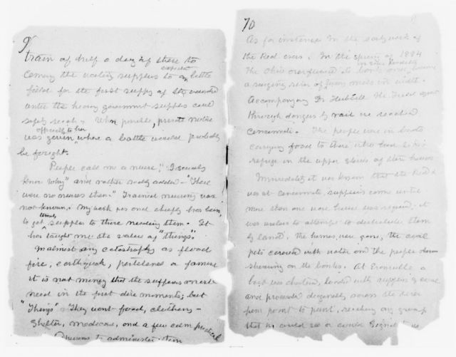 Clara Barton Papers: Diaries and Journals: 1907, Oct.
