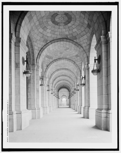 Corridor, Union Station, Washington, D.C.