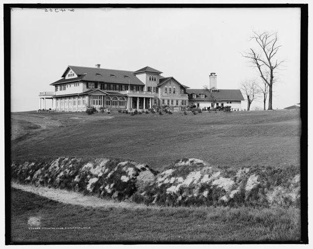 Country club, Cincinnati, Ohio