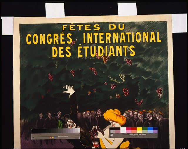 Fêtes du congrès international des étudiants, Bordeaux, Septembre 1907 / L. Cappiello.