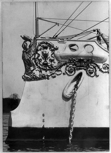 Figurehead of the U.S. Olympia