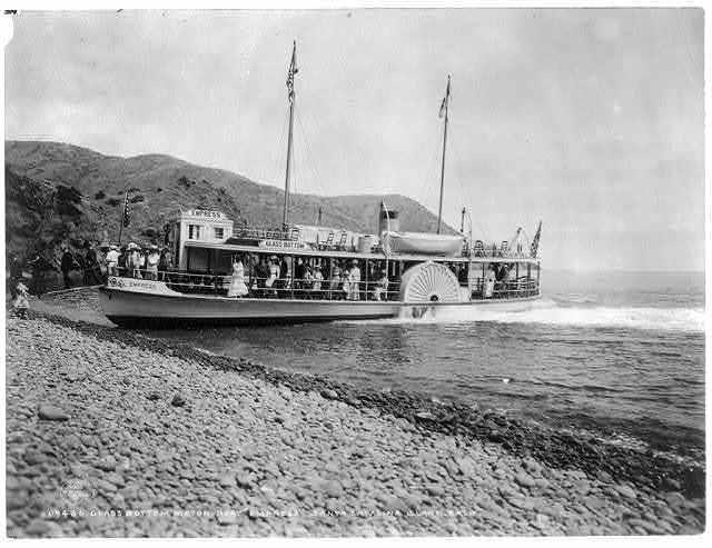 Glass bottom motorboat EMPRESS, Santa Catalina Island, Calif.