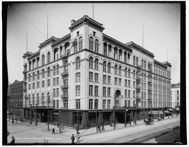 Hotel Cadillac, Detroit, Mich.