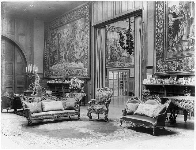 [Interior of John R. McLean House, 1500 I St., N.W., Washington, D.C. - music room looking toward ballroom]