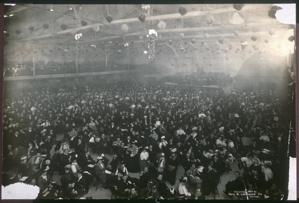 Interior of the Hippodrome, Milwaukee, Wis.