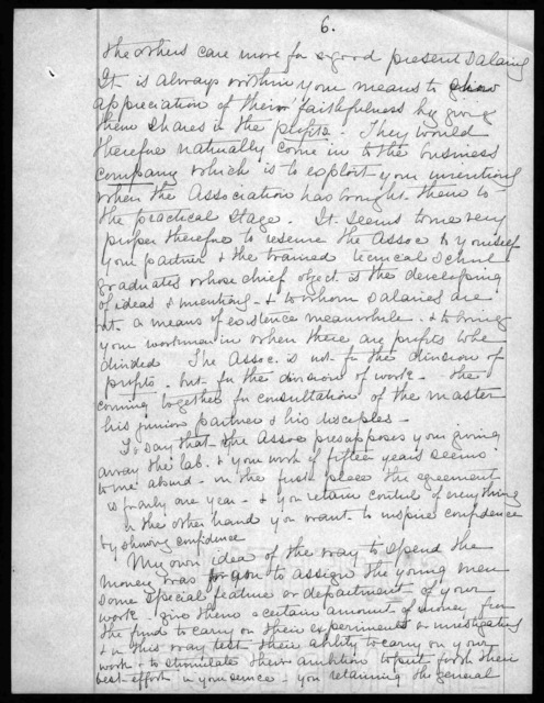 Letter from Mabel Hubbard Bell to Alexander Graham Bell, July 24, 1907