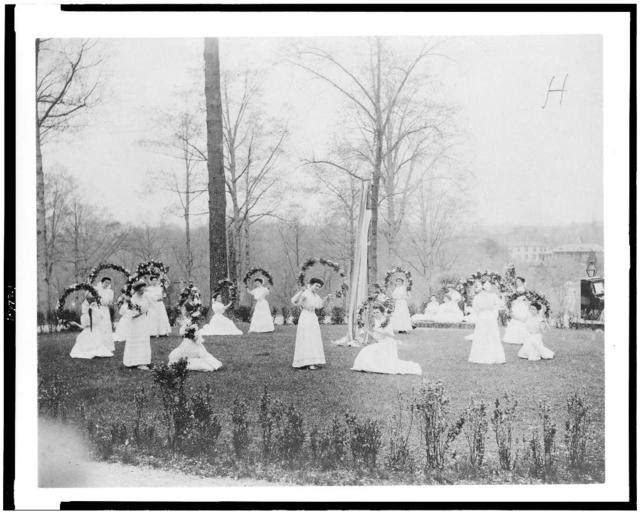 [May Day festivities at Forest Glen, Md.]