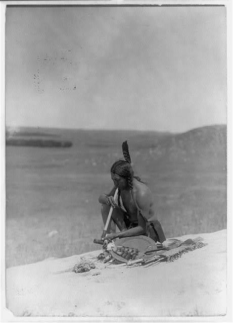 Meditation (Cheyenne River Medicine Rock)