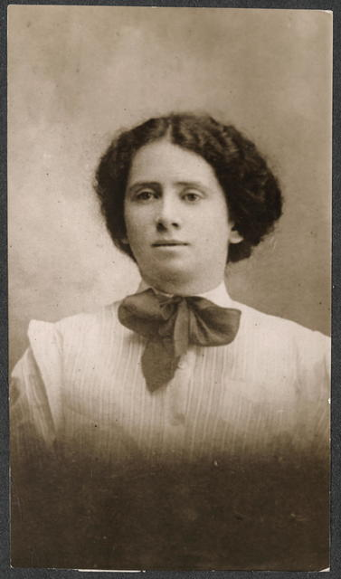 Miss Rose Schneiderman, New York, Vice-President of the Women's Trade Union of N.Y.C.