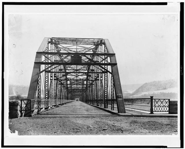 [New bridge at Berwick, Pennsylvania]
