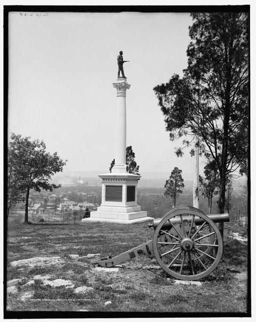 New York Monument, Orchard Knob, Chattanooga, Tenn.