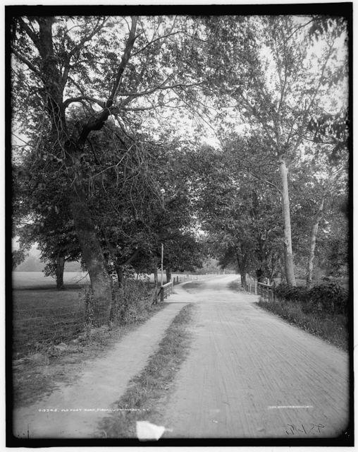 Old post road, Fishkill-on-Hudson, N.Y.