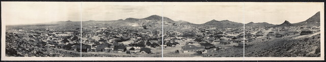 [Panorama of Tonopah, Nevada]